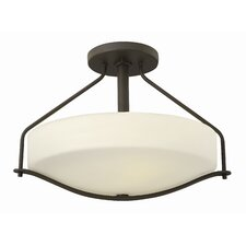 Pelham 3 Light Semi Flush Mount
