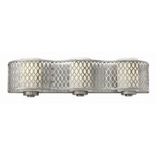 <strong>Hinkley Lighting</strong> Jules 3 Light Bath Vanity Light