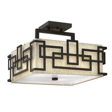 Lanza 3 Light Semi Flush Mount