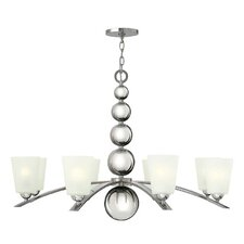 <strong>Hinkley Lighting</strong> Zelda 8 Light Chandelier