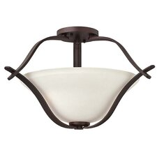 Lauren Semi Flush Mount