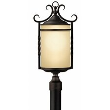 Casa 3 Light Outdoor Post Lantern