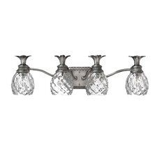 Plantation 4 Light Vanity Wall Sconce