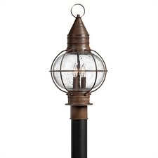 "Cape Cod 1 Light 11.25"" Post Lantern"