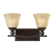 Bolla 2 Light Vanity Wall Sconce