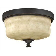 Casa 3 Light Flush Mount