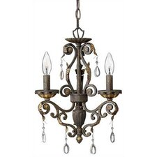 <strong>Hinkley Lighting</strong> Veranda 3 Light Mini Chandelier