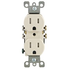 Decora Grounding Duplex Receptacle