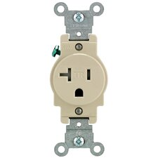 Single Power Temper Resistant Outlet