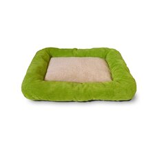 Cute as a Button Low Bumper Crate Donut Dog Bed