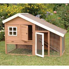 <strong>Precision Pet Products</strong> Cape Cod Chicken Coop with Chicken Run, Nesting Box and Roosting Bar