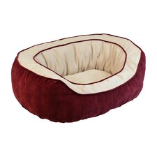 <strong>Precision Pet Products</strong> Chevron Gusset Daydreamer Bolster Dog Bed