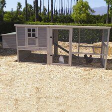 Extreme Hen House Chicken Coop with Nesting Box, Ramp and Roosting Bar