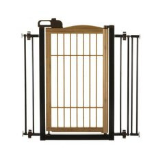 Také One Touch Pet Gate in Bamboo