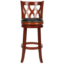"<strong>Safavieh</strong> Ethan 29"" Bar Stool with Cushion"