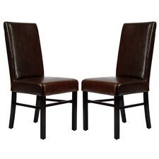 <strong>Safavieh</strong> Classic Parsons Chair (Set of 2)