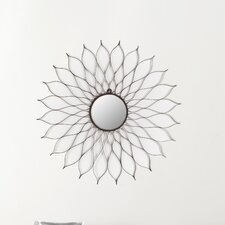 First-Class Bath Flower Mirror