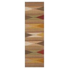 Navajo Kilim Brown/Tan Area Rug