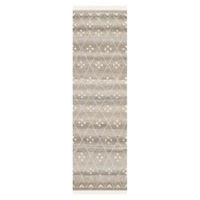 Natural Kilim Dhurrie Natural & Ivory Area Rug