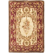 <strong>Safavieh</strong> Empire Louis XVI Gold/Red Rug