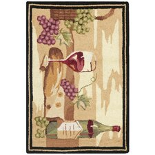 Chelsea Wine Cellar Multi Novelty Rug