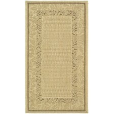 Courtyard Ivory Outdoor Area Rug