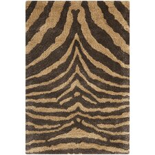 <strong>Safavieh</strong> Soho Black/Gold Rug