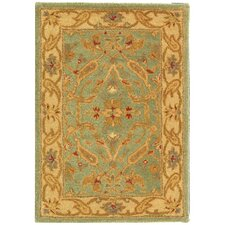 <strong>Safavieh</strong> Antiquities Teal/Beige Rug