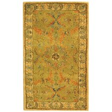 Antiquities Green/Ivory Area Rug