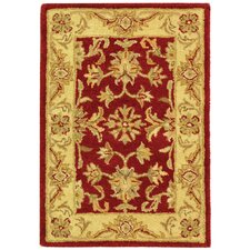 Antiquities Red/Gold Area Rug