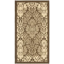 <strong>Safavieh</strong> Courtyard Natural/Brown Rug