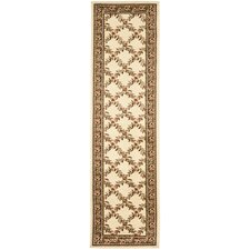 <strong>Safavieh</strong> Lyndhurst Ivory/Brown Checked Rug
