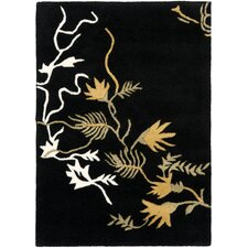 <strong>Safavieh</strong> Soho Black/Multi Rug
