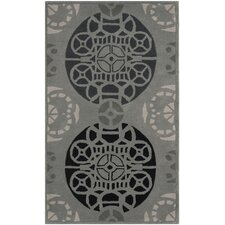 Capri Grey / Black Rug
