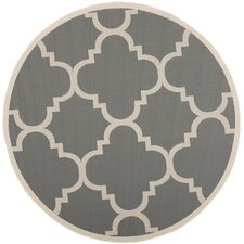 Courtyard Gray and Beige Rug