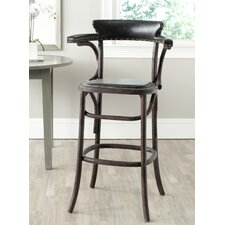 <strong>Safavieh</strong> Mercer Bar Stool with Cushion