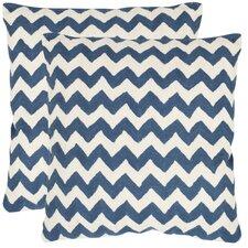 Striped Tealea Decorative Pillow (Set of 2)