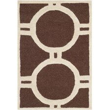<strong>Safavieh</strong> Cambridge Dark Brown Rug