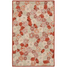 Martha Stewart Cayenne Red Rug
