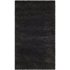 Shag Dark and Gray Rug