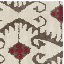Wyndham Ivory Brown Rug