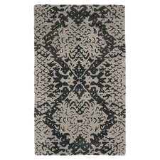 Wyndham Grey / Black Rug