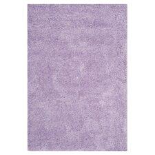 Lilac Shag Rug