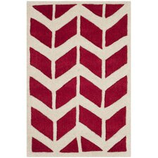 Chatham Red / Ivory Moroccan Area Rug