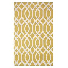 <strong>Safavieh</strong> Cedar Brook Citron / Ivory Rug