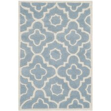Chatham Blue / Ivory Moroccan Rug