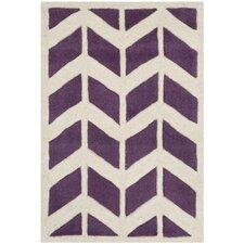 Chatham Purple / Ivory Moroccan Area Rug