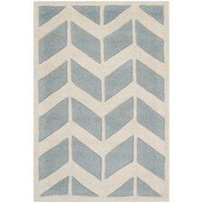 Chatham Blue / Ivory Moroccan Area Rug