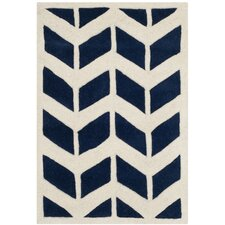 Chatham Dark Blue & Ivory Moroccan Area Rug