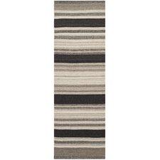 Dhurries Brown/Ivory Area Rug
